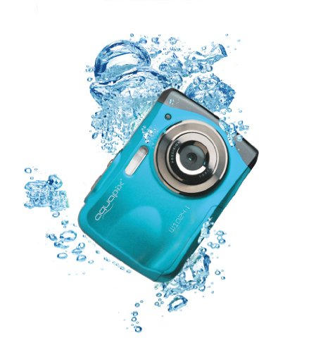 "Easypix 10012 Unterwasser Digitalkamera ""Aquapix W1024-I Splash"" in Eisblau -"