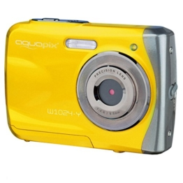 "Easypix 10014 Unterwasser Digitalkamera ""Aquapix W1024-Y Splash"" in gelb -"