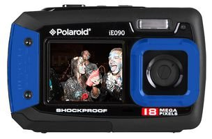 DIGITAL CAMERA, WATERPROOF, 18MP, BLUE IE090-BLU By POLAROID -