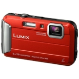 Panasonic LUMIX DMC-FT30EG-R Outdoor Kamera (16,1 Megapixel, 4x opt. Zoom, 2,6 Zoll LCD-Display, wasserdicht bis 8 m, 220 MB interne Speicher, USB) rot -